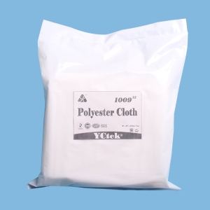 100% Polyester Microfiber Cleaning Cloth Nonwoven Fabric Wipes