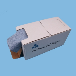 100% Polypropylene Embossed Oil Absorbent Wipes for Industrial