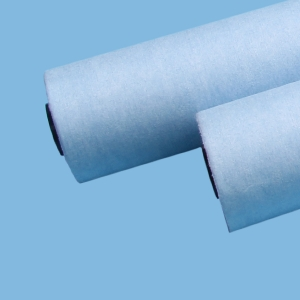 55%Woodpulp 45%Polyester Hight Quality Automatic Blanket Wash Cloth Roll