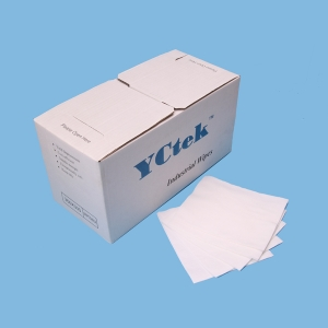 55%Woodpulp45%Polyester Lint Free Cleanroom Wipe Nonwoven 1/4 Fold Wipe