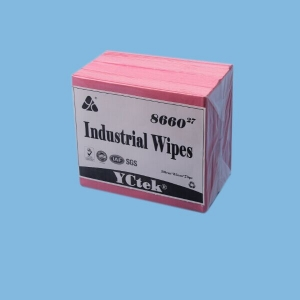 70% Woodpulp 30% PP Fabric 110gsm YCtek60 Industrial Cleaning Wipes