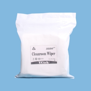 100% Polypropylene Fiber Lint-free Cleanroom Wiping Cloth 9''*9''