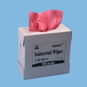China Wholesale Nonwoven Fabric PP Wood Pulp Cleaning Wiper