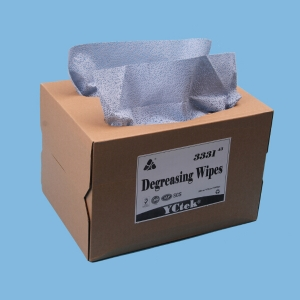 Degreasing Wipes With 100% Melt blown polypropylene Oil Absorbent Wipes