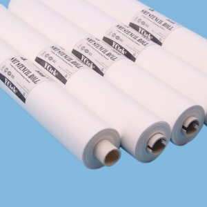 Durable SMT Woodpulp And Polyester Understencil Cleaning Roll With High Absorbent For FUJI