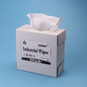 High Absorbent Wood Pulp And Polypropylene General Cleaning Wipes