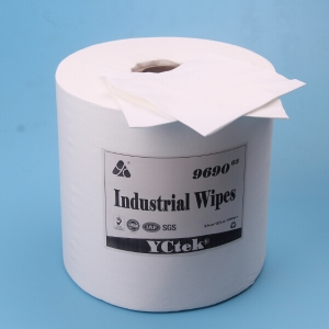 Nonwoven Fabric Wipes With High Absorbency Industrial Cleaning Wipes