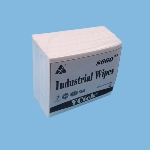 Nonwoven Fabric Woodpulp & PP Industry Nonwoven Cleaning Wipes