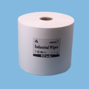 Polypropylene Wood Pulp Spunlace Nonwoven Fabric Wipes for Industrial