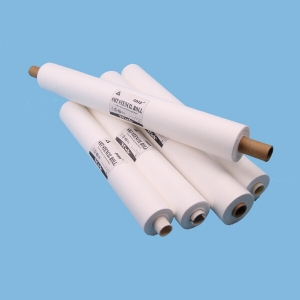 Spunlace Nonwoven Fabric For Print Machine Smt Stencil Cleaning Paper Roll