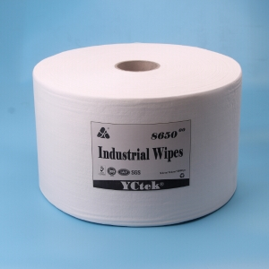 Woodpulp And Polypropylene Durable General Cleaning Wipes With High Absorbency