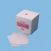 China 1/4 Fold Lint Free Viscose Polyester M-3 Cleanroom Wipes factory