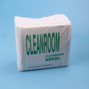 China 55%Cellulose 45%Polyester Cleanroom Wipes factory