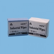 China China Supplier PP Woodpulp Disposable Industrial Wipes factory