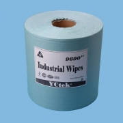 China Jumbo Roll 55% Woodpulp 45% Polyester Industrial Cleaning Dry Wipe factory