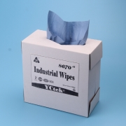 China Multipurpose Cleaning For Industrial Woodpulp And Polypropylene Cleaning Wipes factory