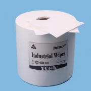 China Woodpulp Polyester Laminated Non woven Fabric Cleaning Wipes factory