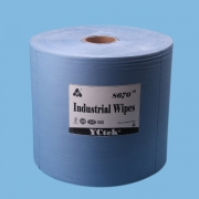 China YCtek70 Eco-Friendly Industrial Cleaning Blue Paper Spunlace Nonwoven Fabric factory