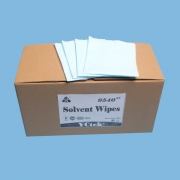 China Solvent Wipes, Dry, Nonwoven fabric, Blue,1/4 folding box style factory