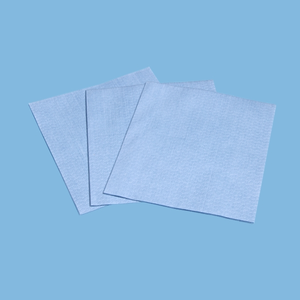 Blue Non Woven Fabric General Cleaning Wipes With Extra