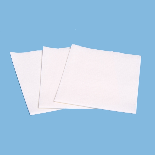 Lint Free Woodpulp Polyester Nonwoven Fabric Cleanroom