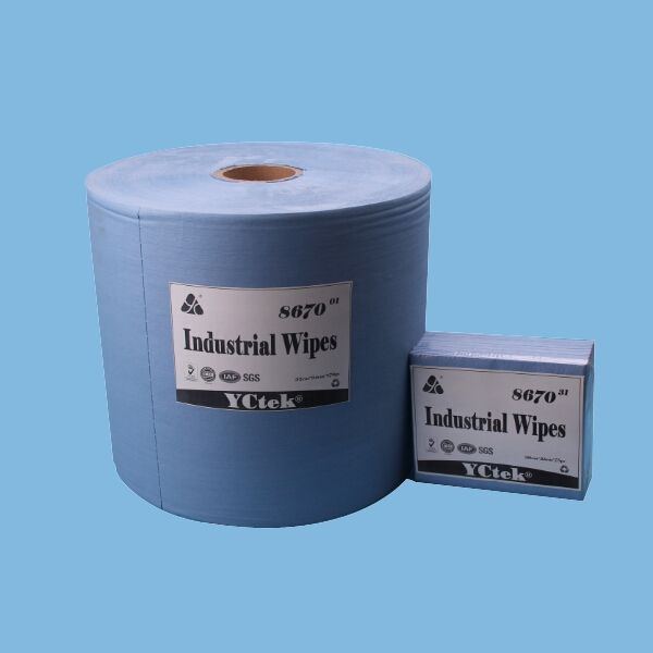 YCtek70 Super Absorbent PP Nonwoven Fabric Cleaning Wipes